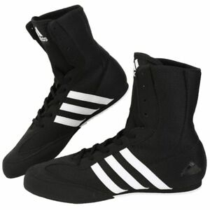 Adidas Box Hog2 Wrestling Shoes Boxing MMA Shoes Black BA7928 SZ 4-11