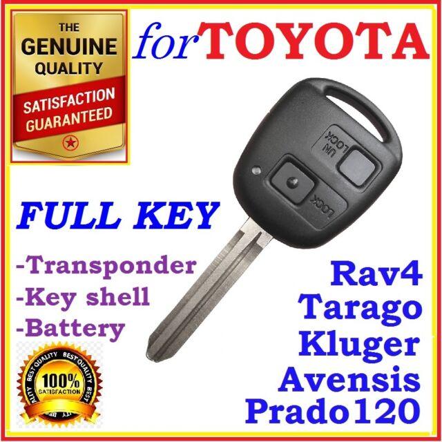Toyota Prado 120 RAV4 Kluger Avensis Tarago Remote key Transponder - 50171
