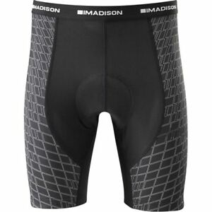 Madison-Flux-men-039-s-Cycle-Cycling-Bike-liner-shorts-Black