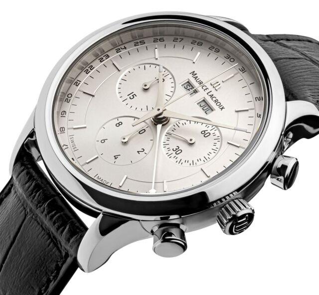 Maurice Lacroix Les Classiques Chronograph Herrenuhr LC1008-SS001-130-1 NEU OVP.