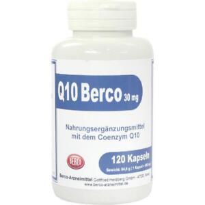 Q 10 BERCO 30 mg Kapseln   120 st   PZN458420