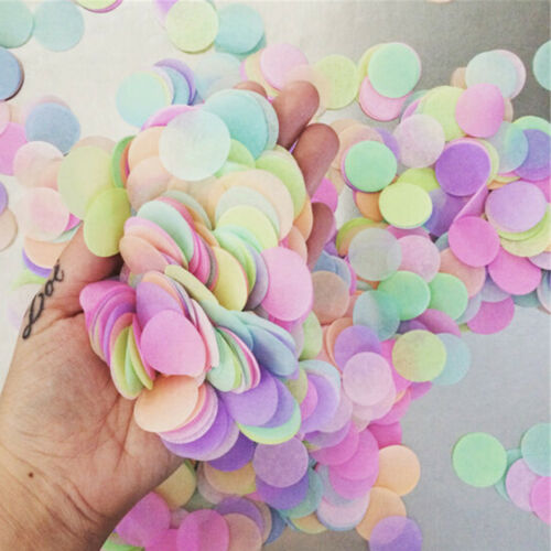 1000X//Pack Flame Retardant Paper Table Throwing Confetti Party Wedding Decor FO