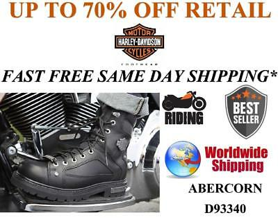 Harley Davidson® D93340 Men's Abercorn Riding Leather Motorcycle Boots ON SALE | eBay