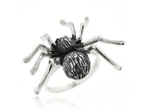 925 Sterling Silver Black Antique Gothic Style Animal