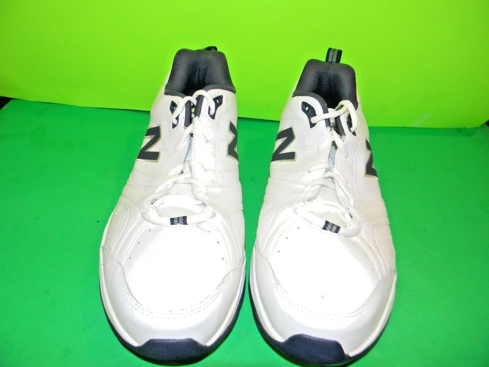Men's New Balance  MX632V2  Walking  shoes  White Navy Size 14  2E  BX NBM 1