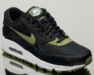 huge selection of ef731 12f7e Nike WMNS Air Max 90 women casual sneakers NEW black palm green ...