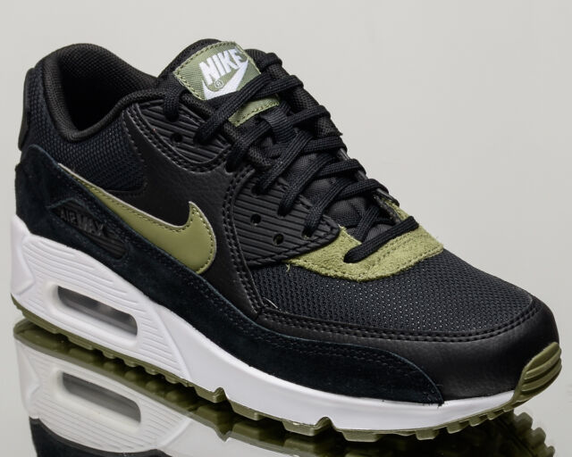 5cdaebfd414d00 ... where can i buy nike wmns air max 90 women casual sneakers new black  palm green ...