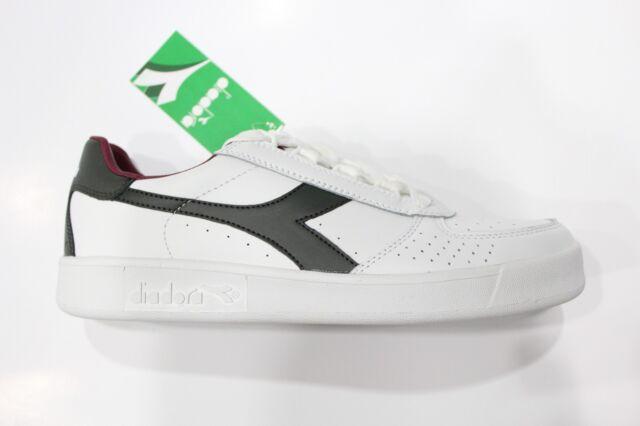 Diadora B.ELITE Scarpe Shoes Sneakers bassa Unisex Bianco Grigio