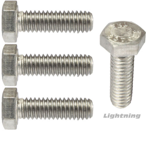 """Hex Bolts Full Thread Stainless Steel 1//4-20 X 7//8/"""" Qty 1,000"""