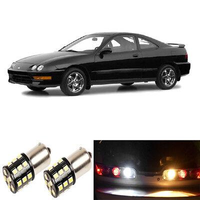 1994-2001 Acura Integra White LED Reverse Light Kit USA SHIPPING