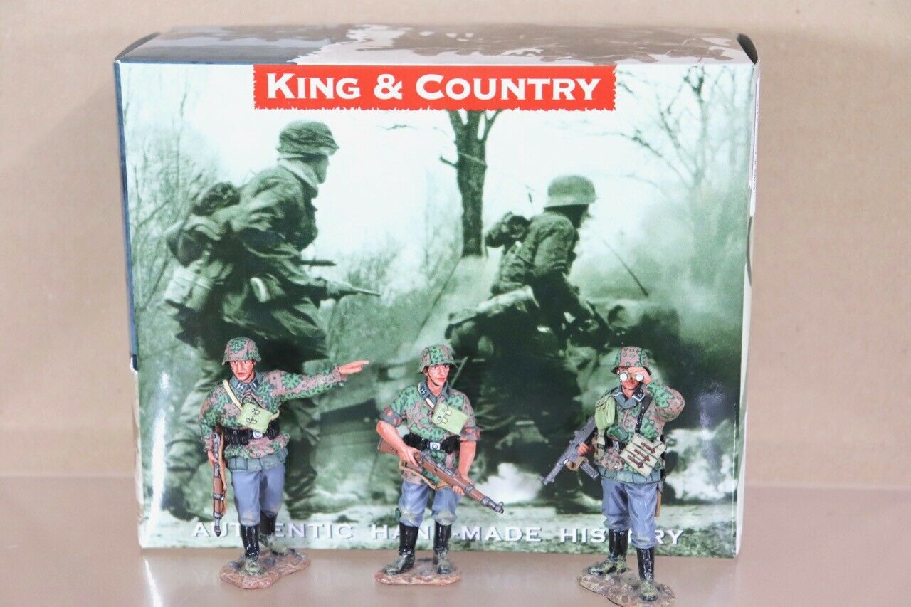 KING KING & COUNTRY WSS111 WWII GERMAN FORCES INFANTRY OVER THERE SET BOXED nu