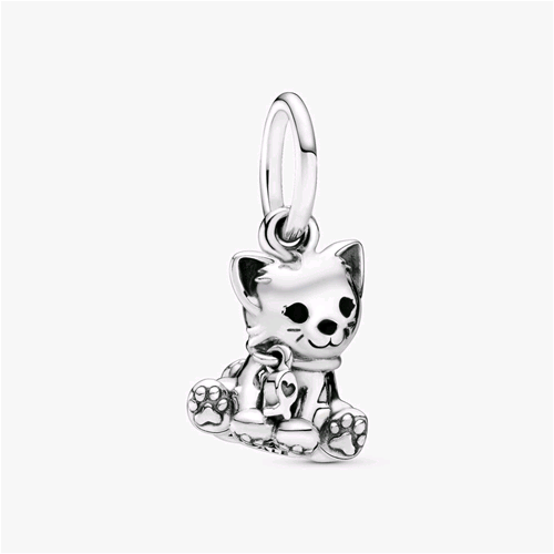 pandora charms gatto