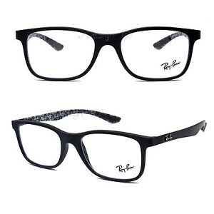 e3cc531987c Ray Ban RB 8903 5263 Carbon Matte Matte Black 53 18 145 Eyeglasses ...