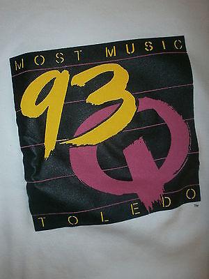 93q Wrqn Sweatshirt Vtg 80er Jahre 90er Toledo Ohio Meisten Music Radiosender Xl HöChste Bequemlichkeit