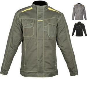 Spada-Rigger-Motorcycle-Motorbike-OLIVE-GREEN-Shirt-ARMOURED