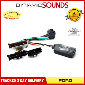 JVC-Stereo-Adaptateur-Controle-Direction-pour-Ford-Escort-Focus-Fiesta-Galaxy