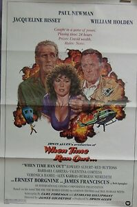 When-Time-Ran-Out-Original-Single-Sided-Movie-Poster-Paul-Newman-William-Holden