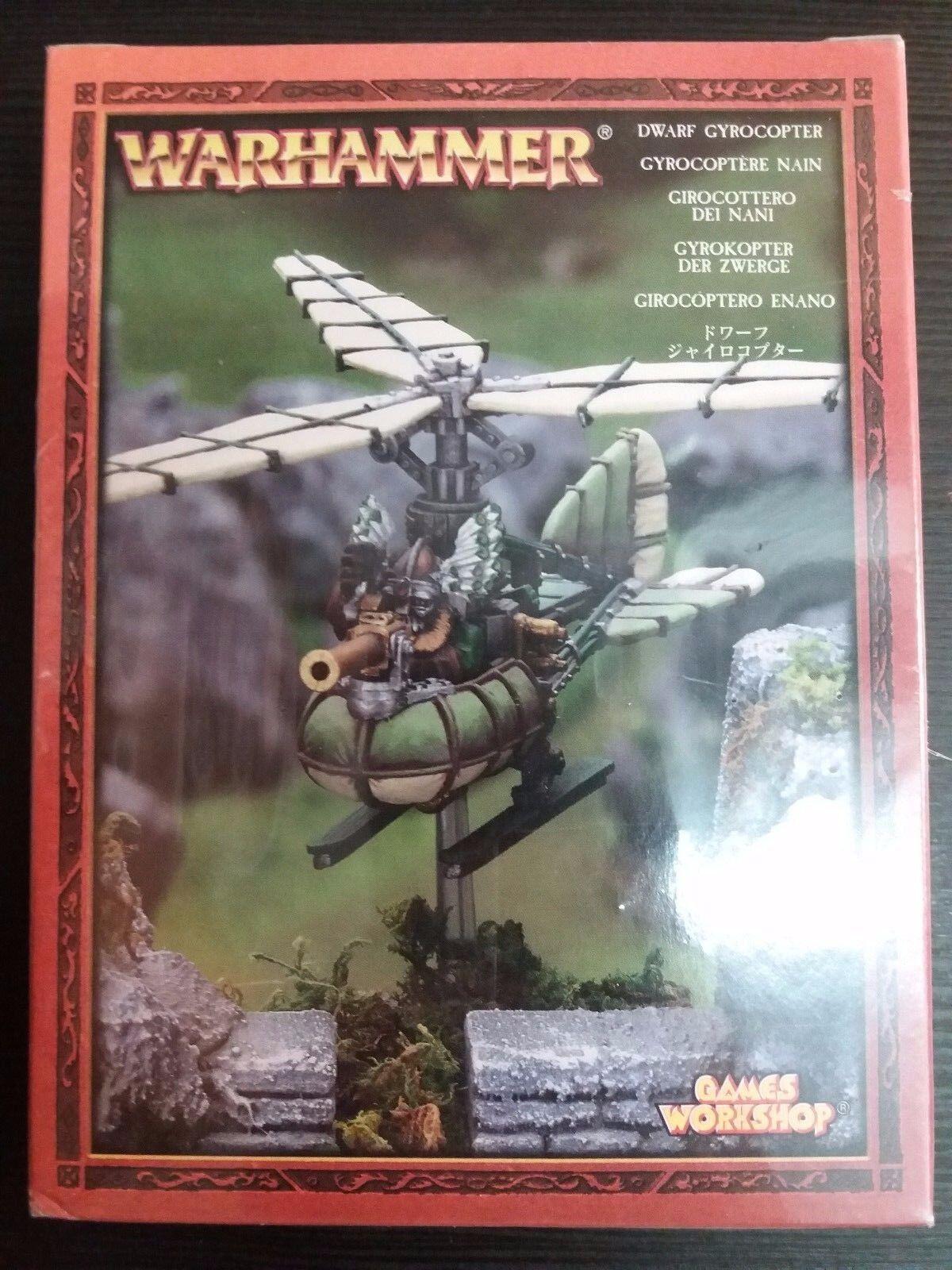 Warhammer Fantasia Sigmar - Dwarf Girocóptero Girocoptero Enano - New Sealed