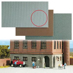 Busch-7401-Gauge-H0-Cobble-Stone-Pavement-Plates-25x14cm-1qm-153-42-Euro