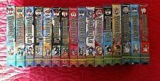 Fushigi Yuugi The Mysterious Play Lot of  16 VHS Tapes Entire Series Dubbed