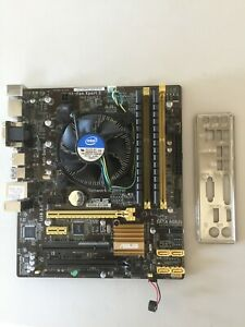 INTEL G3220 DUAL CORE CPU ASUS H81 MOTHERBOARD 8GB DDR3 MEMORY RAM COMBO KIT