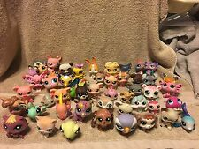 LPS Littlest Pet Shop lot of 50 Cat Dog Frog Giraffe Bug Mouse Bird HUGE LOT 2
