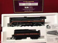 MTH 3-Rail Premier 20-3133-1 4-8-4 Class J Steam Loco Nofolk & Western PS 2 NIB
