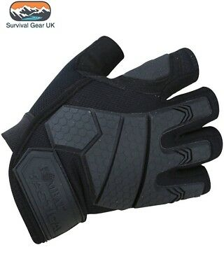 Military Alpha Tactical Combat Warm Army Gloves Hardshell Knuckle Micro Fibre