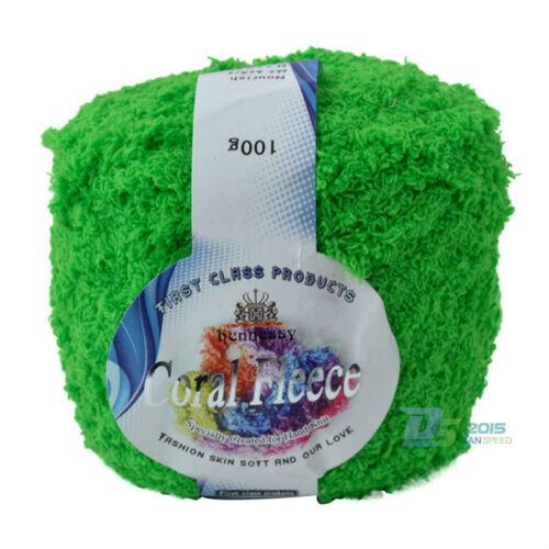 Super Smooth Soft Milk Cotton Natural Hand Knitting Wool Yarn Ball Baby Craft