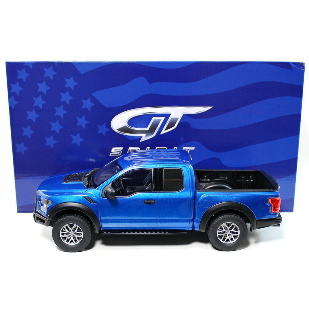 marca famosa GT Spirit – – – escala  – EXCLUSIVO EE. UU. – Ford F- Raptor En Azul modelo de escala  Envio gratis en todas las ordenes