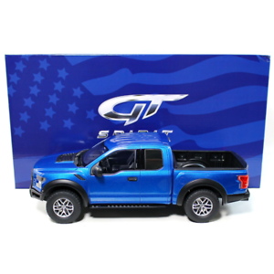 GT Spirit – 1 18 Scale – US Exclusive – Ford F-150 Raptor in bluee Scale Model
