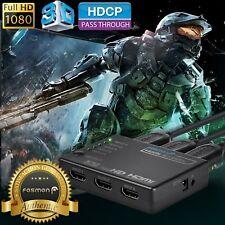 5x1 端口 HDMI 選擇器開關切換器全高清 1080p 3d HDCP 帶遙控器