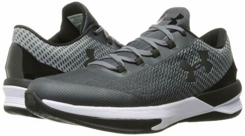 Under Armour Men/'s Charged Controller Basketball Shoes Rhino Gray//Black