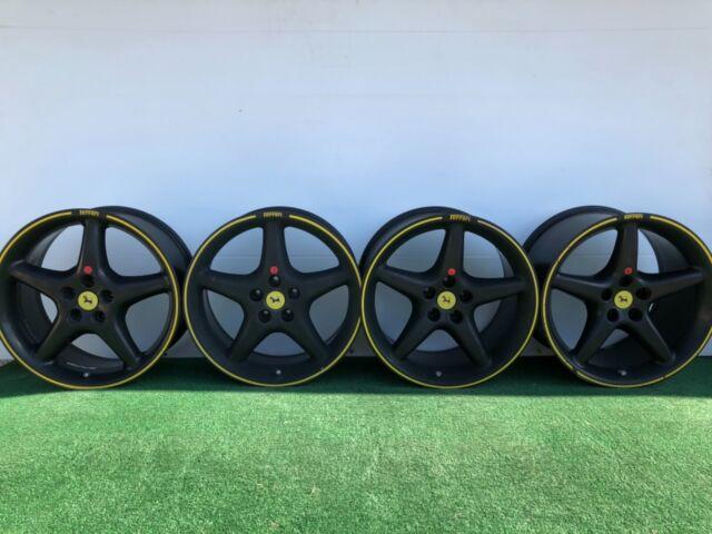 Ferrari 550 Maranello Wheels Michelin Ss Tires 18 456 550m Oem Bbs Rims For Sale Online Ebay