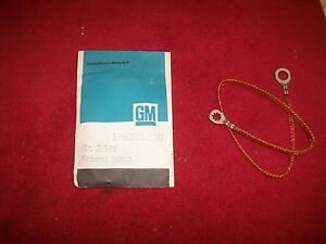Details about 1964 - 85 NOS Buick Cadillac Chevy Oldsmobile Pontiac Engine  Ground Strap
