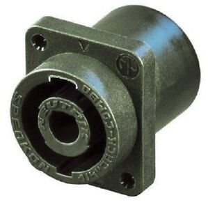NEUTRIK-NLJ2MD-V-PC-Panel-Mount-Combo-Locking-Speakon-PLUS-1-4-034-Speaker-Jack
