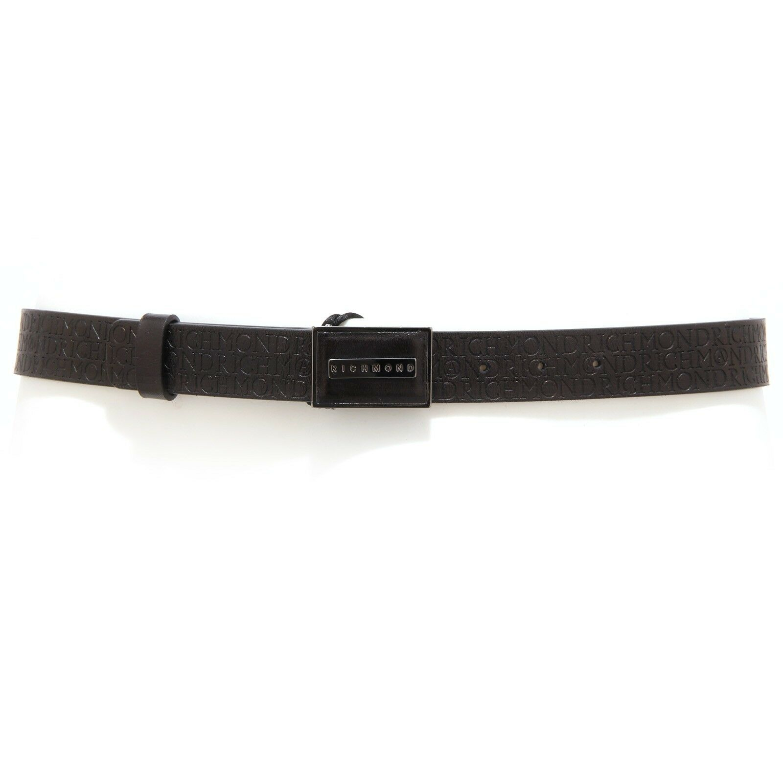 6325U cintura donna RICHMOND ecopelle nero belt black unisex