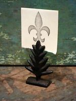 Cast Iron Tree Photo Place Card Wedding Party Holder Home Cabin Office Decor