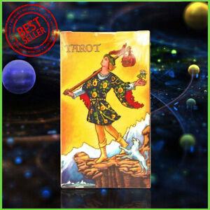 Rider-Waite-Original-Tarot-Card-Cards-Deck-78-Cards-Regular-Size-Instructions
