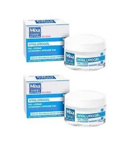 Gel-Creme-Hydratant-Intensif-24h-a-l-039-Acide-Hyaluronique-MIXA-50ml-lot-2-EBBP