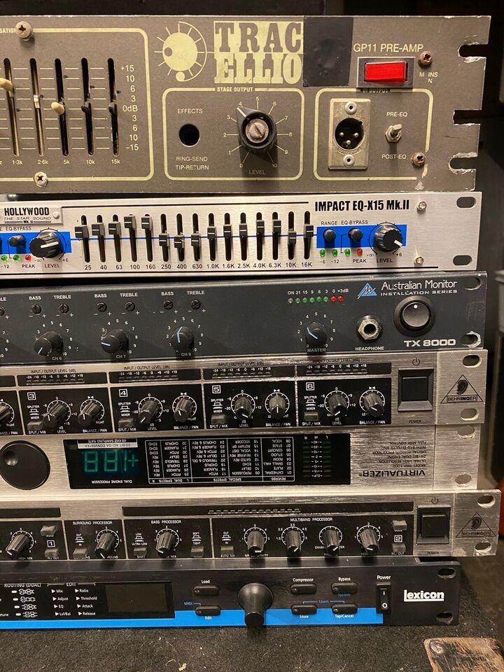 Div audioudstyr