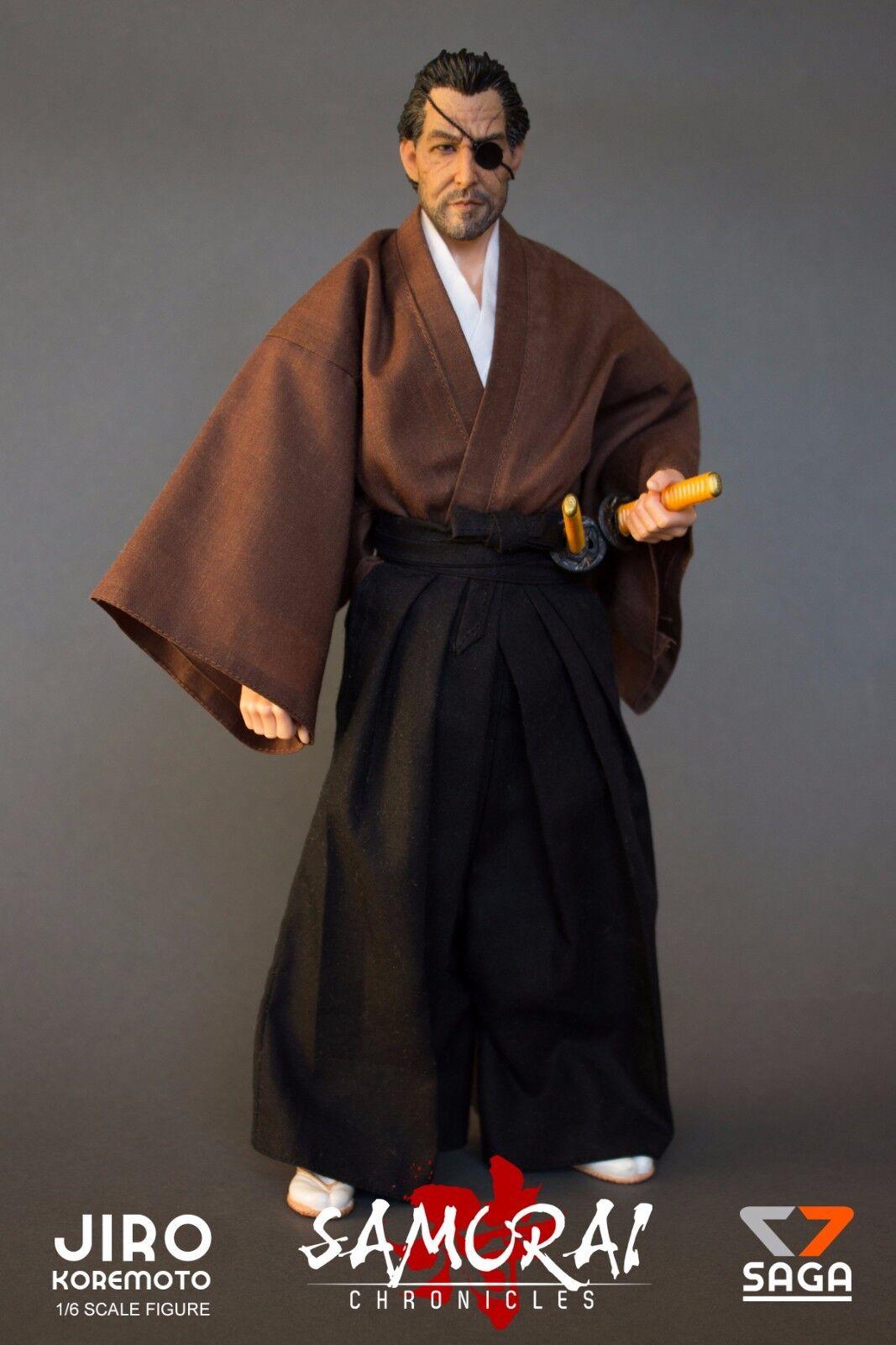 Jiro Koremoto 1/6 Scale Figure Samurai Chronicles by 7 Saga Figures