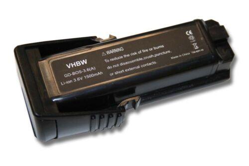 SPS10 SPS10-2 WERKZEUG AKKU BATTERIE 3.6V 1500mAh für BOSCH PS10
