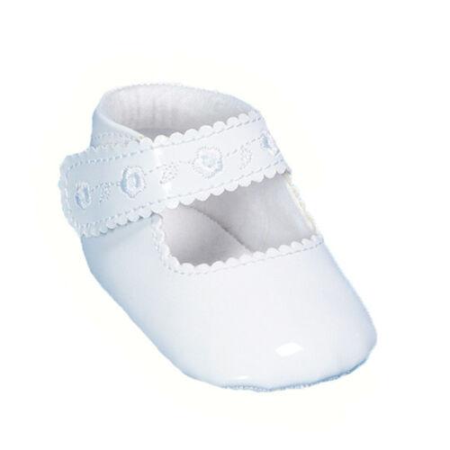 Babyschuhe Taufschuhe Mädchen Schuhe Festlich Weiß o Ivory 17 18 19 20