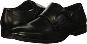 BNWT-Kenneth-Cole-Black-Double-Monk-Strap-Shoes-Men-039-s-UK-10