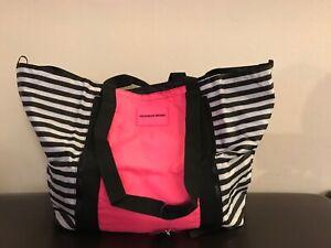 Bag Negro Gym Msrp Tote Victoria's 79 Secret Blanco Vsx Rosa Foldable Sport wxqXpYHgXz