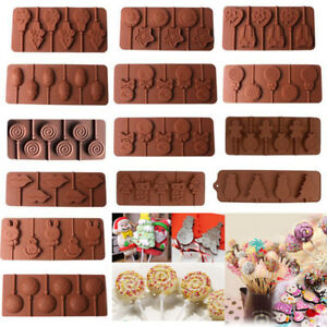 Silicone-Lollipop-Mould-Tray-Candy-Chocolate-Lollypop-Sugarcraft-Decorating-Mold