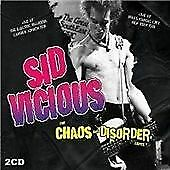 Sid-Vicious-The-Chaos-And-Disorder-Tapes-2-x-CD-Live-1975-amp-1978-Punk-Rock
