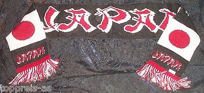 SCHAL JAPAN FANSCHAL FUßBALL WM FAN SCHAL FAHNE FLAGGE FLAG SCARF