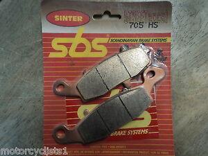 SBS Front Right Brake Pads Kawasaki EX650 VN1500 Suzuki V-Strom SV650
